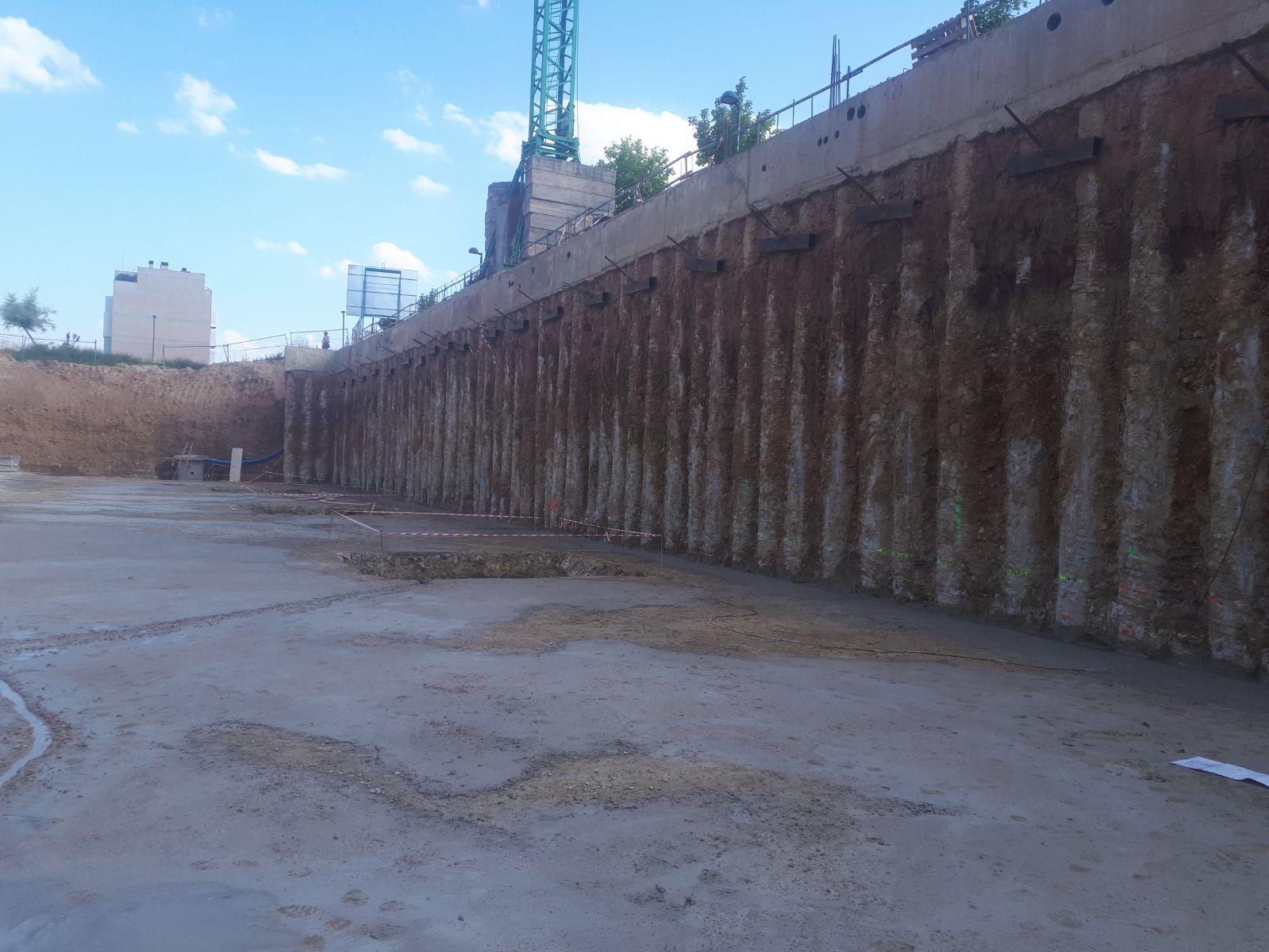 hormigon de limpieza los obeliscos burgos