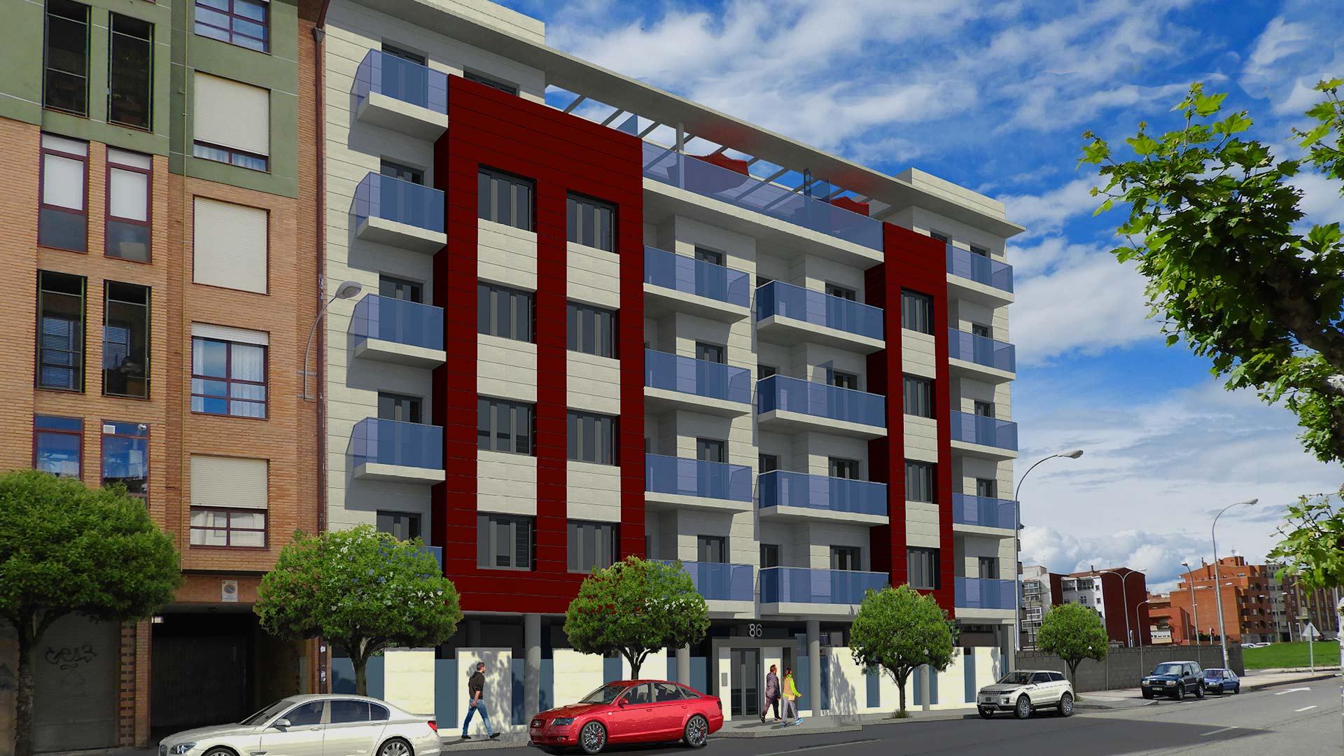 Construccion integral 19 viviendas para Proyectos Luengo Vega