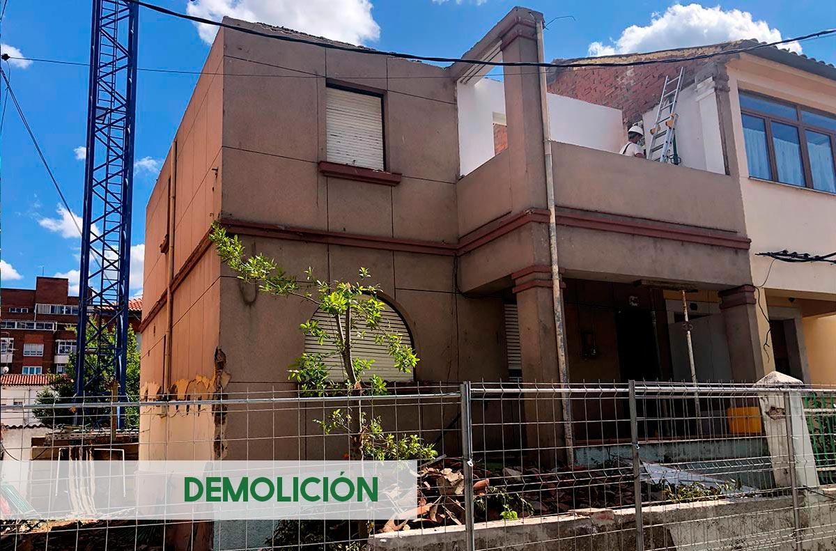 Ejecución de vivienda unifamiliar en León