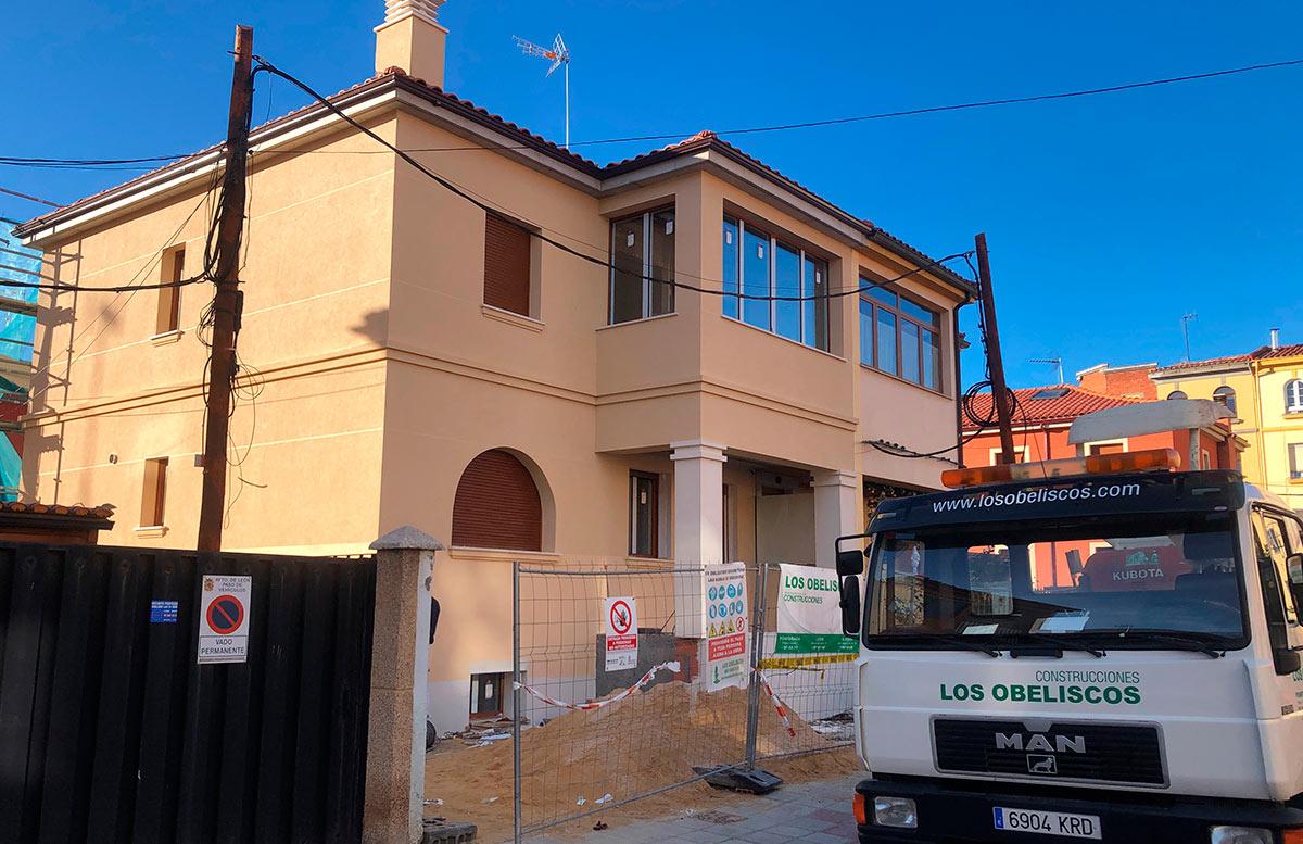 Construcción de vivienda unifamiliar en León