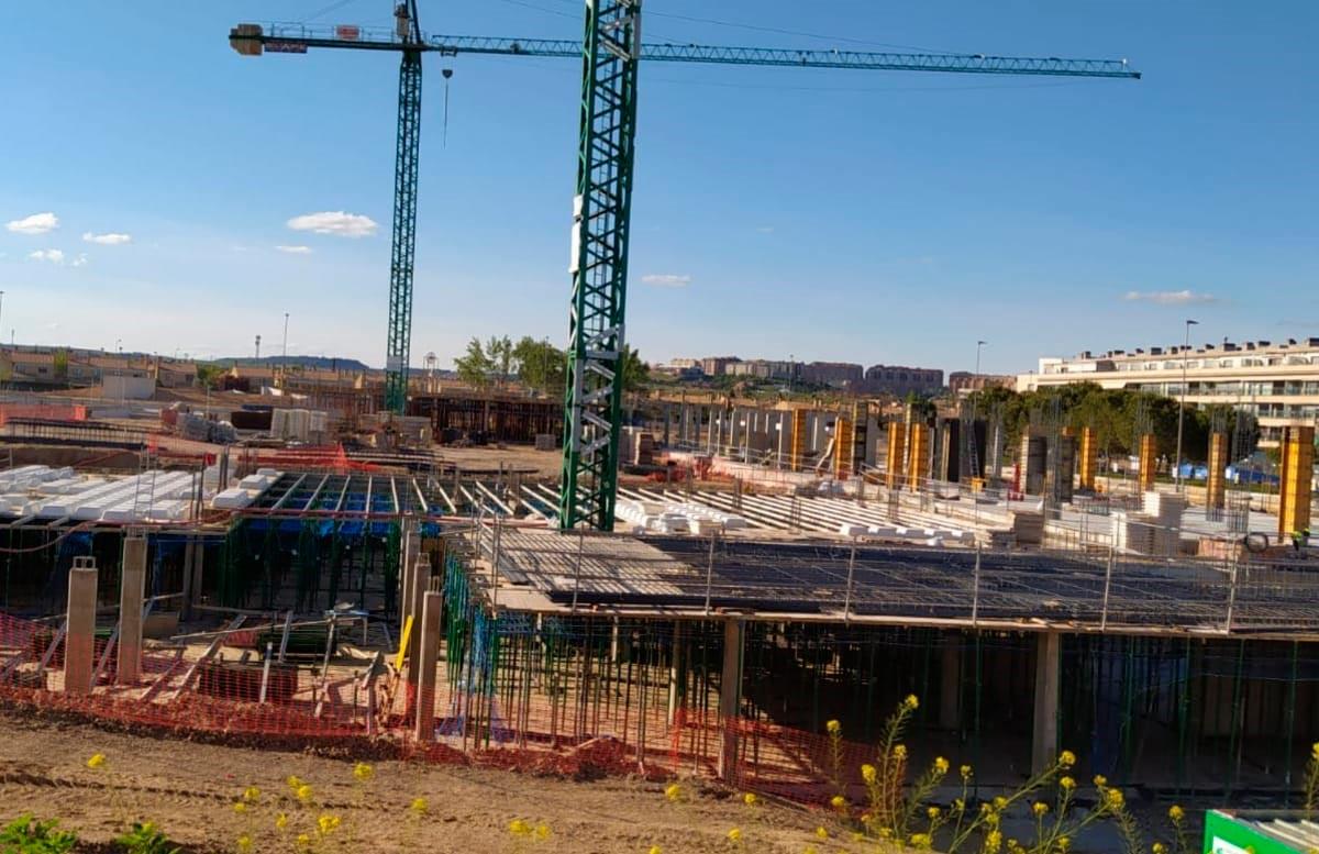 Estructura de hormigón en Valladolid