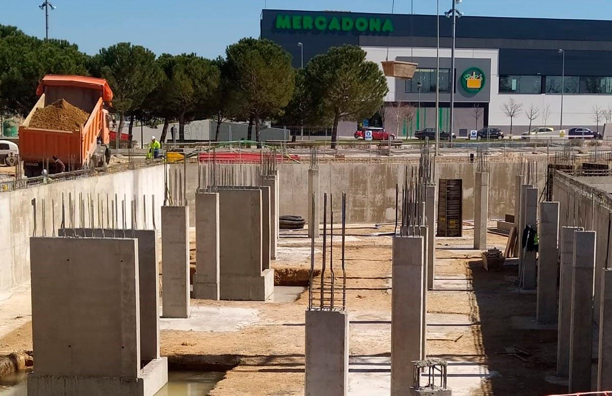 Estructura de hormigón Valladolid
